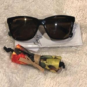 Maui Jim Jacaranda Brown Strip sunglasses New
